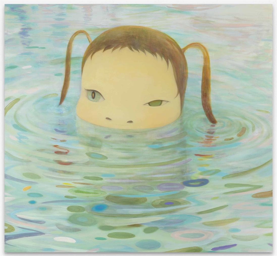 Yoshitomo Nara-Deeper Than A Puddle-2004