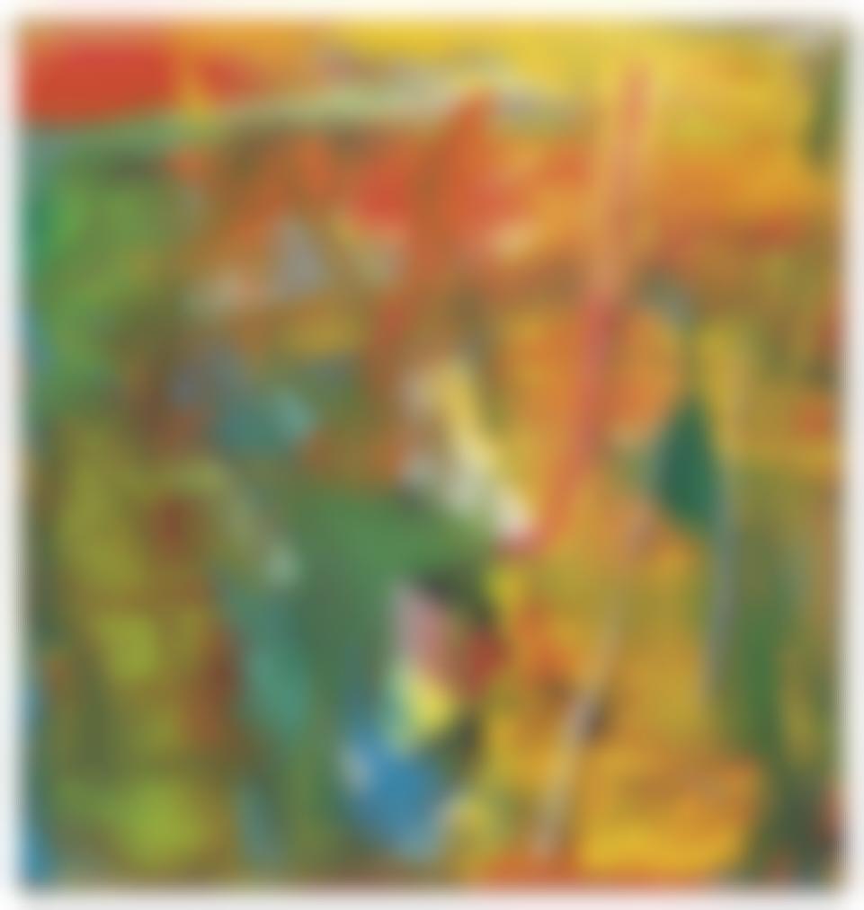 Gerhard Richter-Abstraktes Bild-1986