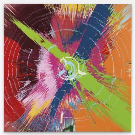 Damien Hirst-Beautiful Weave Your Cosmic Web Of Hypnosis Painting-2007