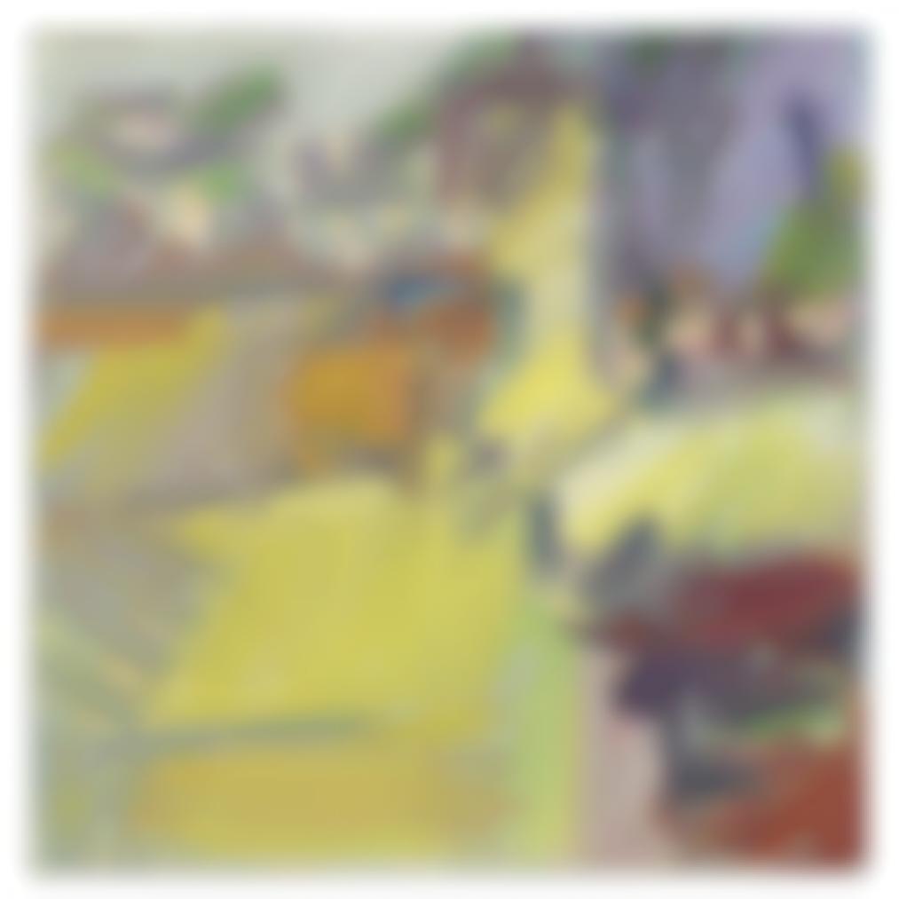 Frank Auerbach-The Pillarbox-2011