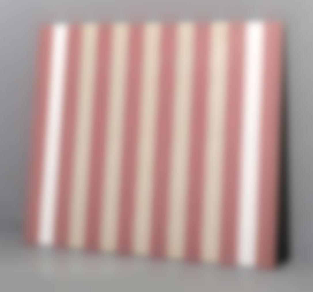 Daniel Buren-Acrylique Sur Tissu Recto-Verso-1970