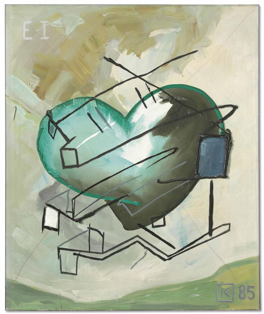 Martin Kippenberger-Entwurf Fur Muttergenesungswerk I (Design For Maternity I)-1985