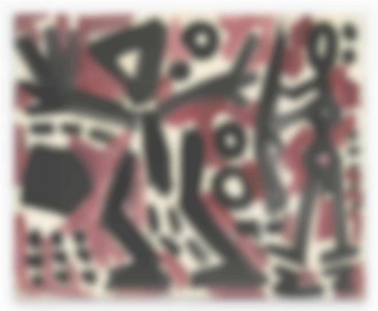 A.R. Penck-Ubergang (Crossing)-1980