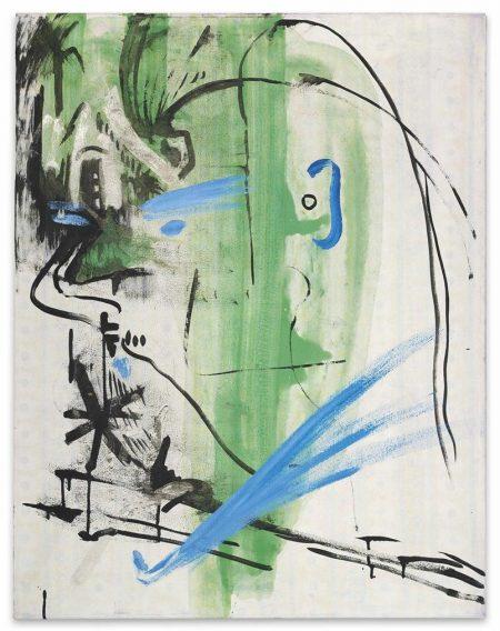 Sigmar Polke-Ohne Titel (Selbstbildnis) (Untitled (Self-Portrait))-1983