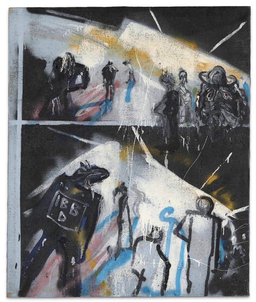 Martin Kippenberger-S.O.36/Ibbd. (Ich Bin Besonders Doof)-1982