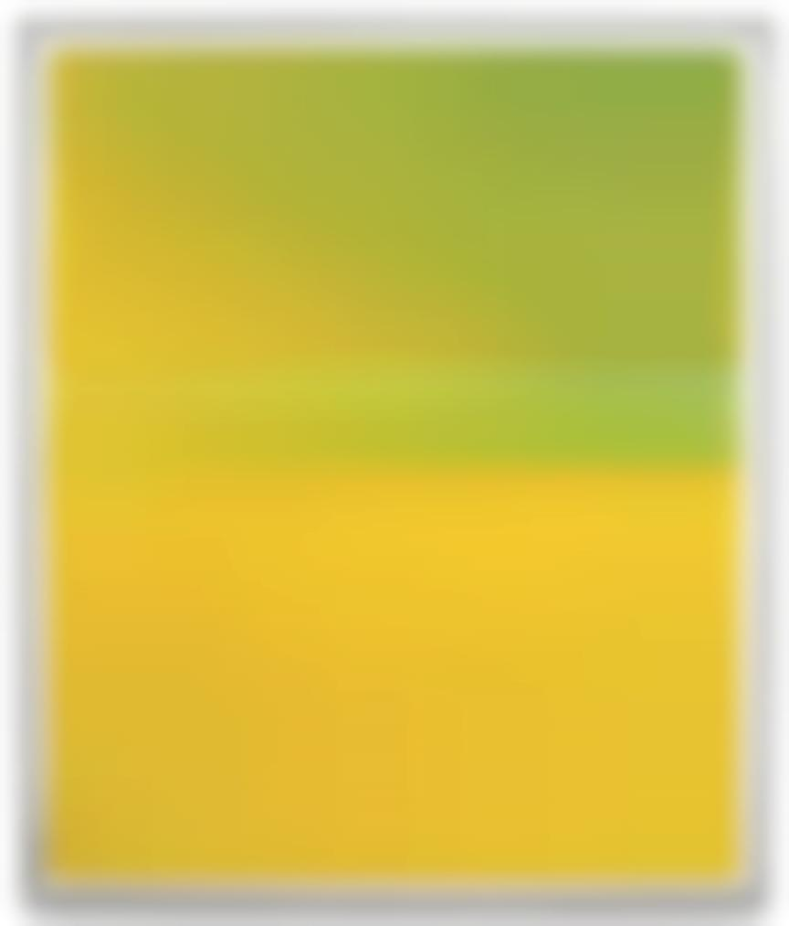 Wolfgang Tillmans-Lighter, Green / Yellow III-2008