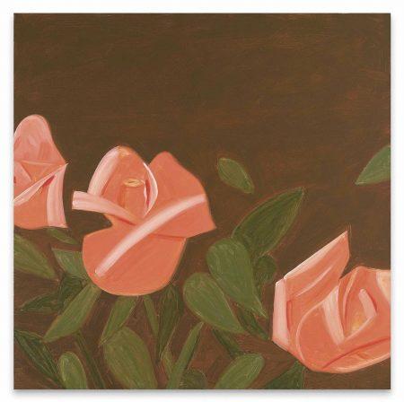 Alex Katz-Pink Roses 1-2012