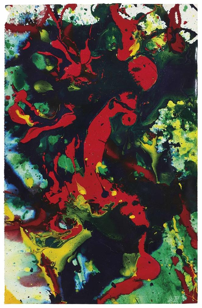 Sam Francis-Untitled-1990