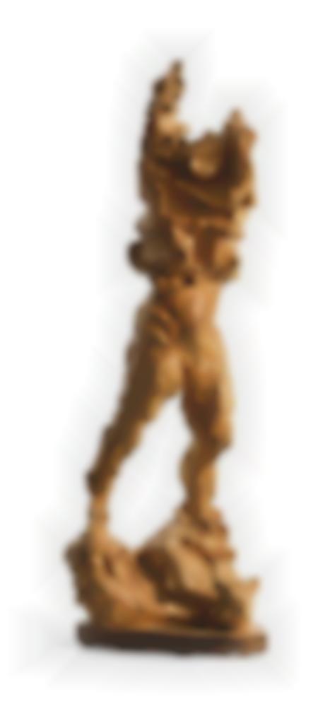 Lucio Fontana-Mujer Desnudandose (O El Viento En Catamarca) (Woman Getting Undressed, Or The Wind In Catamarca)-1947