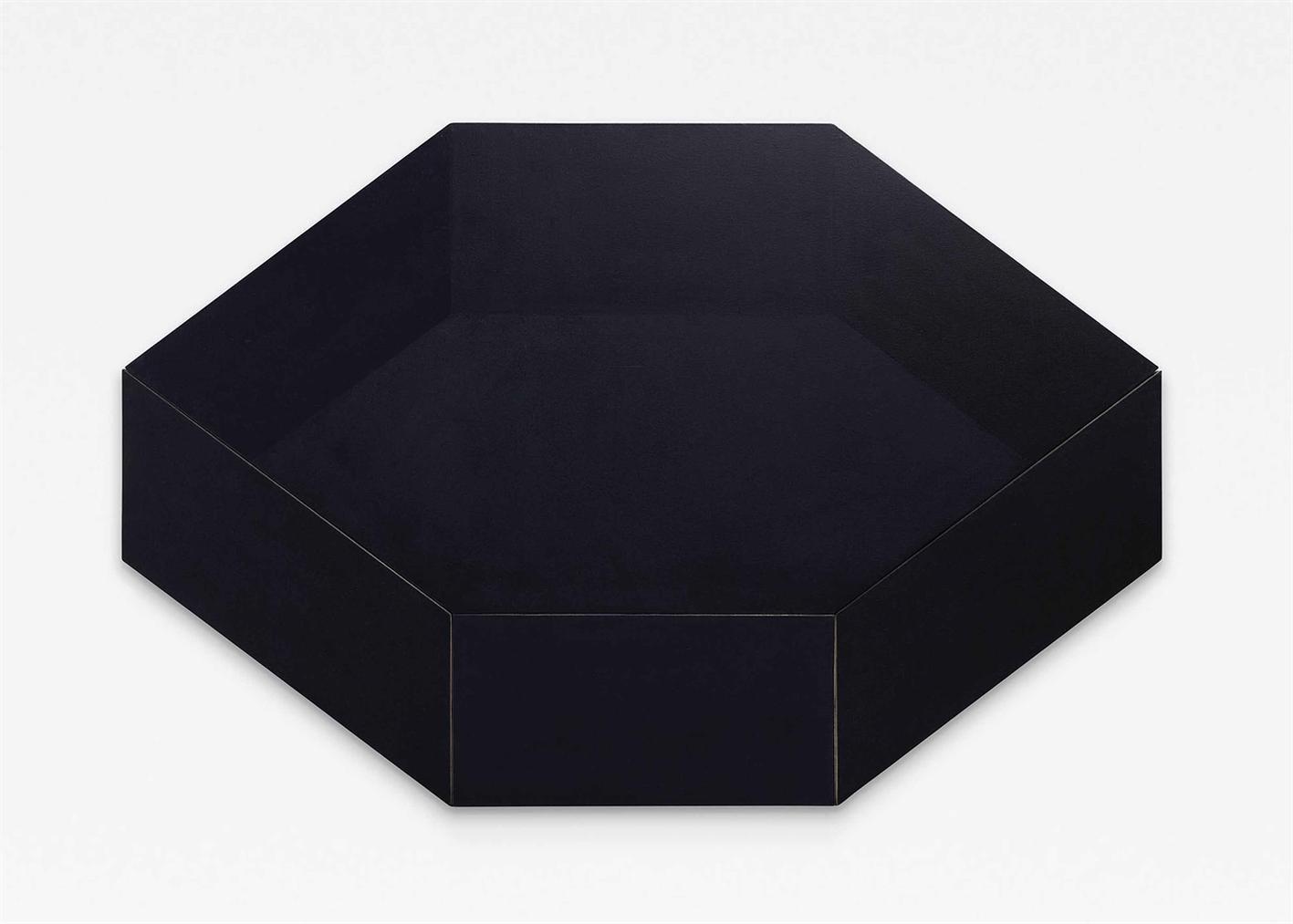Rodolfo Arico-'Oggetto Non Oggetto' Omaggio A Kasimir Blu ('Object Non-Object' Homage To Kasimir Blue)-1968