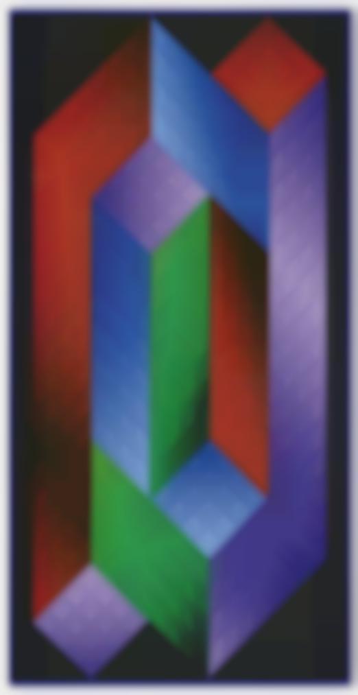 Victor Vasarely-Torony-1970