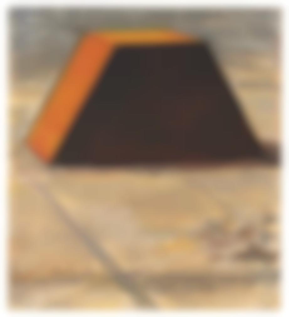 Christo and Jeanne-Claude-Abu Dhabi Mastaba (Project For United Arab Emirates)-1978