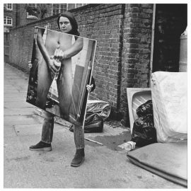 Sarah Lucas-Got A Salmon On In The Street-2001