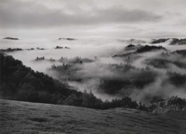 Ansel Adams-Clearing Storm, Sonoma County Hills, California-1951
