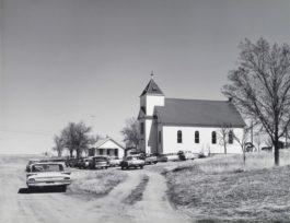 Robert Adams-Catholic Church, Ramah, Colorado-1966