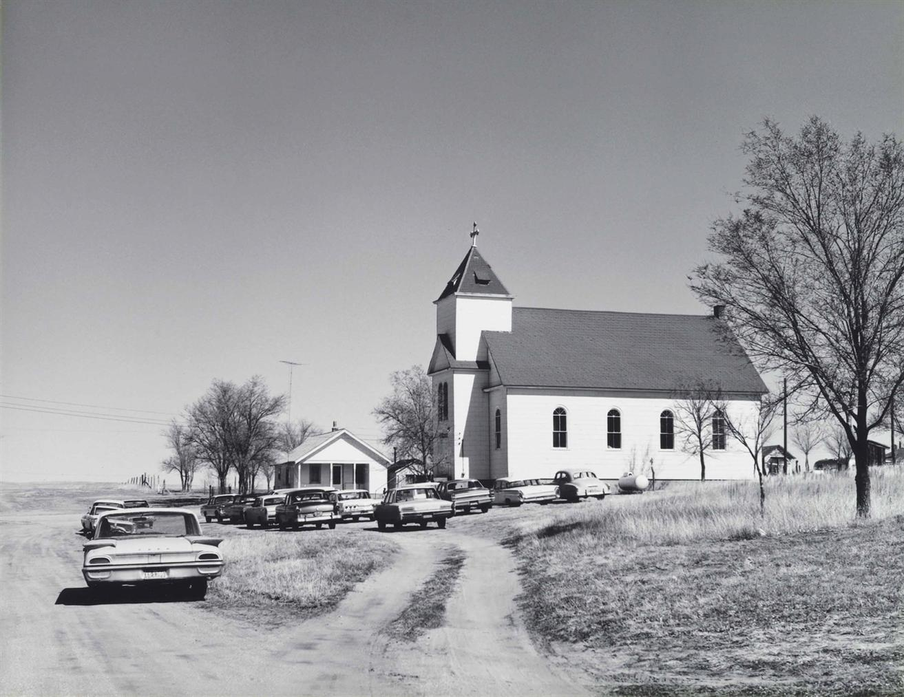 Robert Adams-Catholic Church, Ramah, Colorado-1966