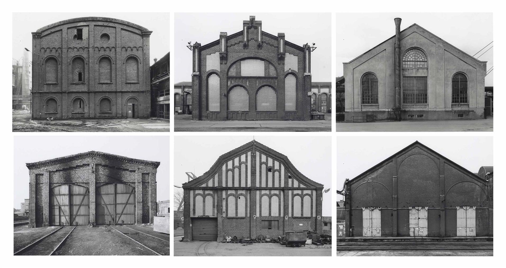 Bernd and Hilla Becher-Engine Houses-1986