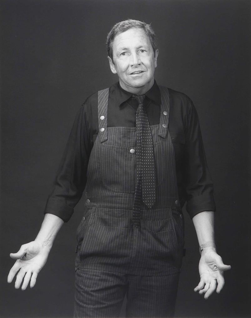 Robert Mapplethorpe-Robert Rauschenberg-1983