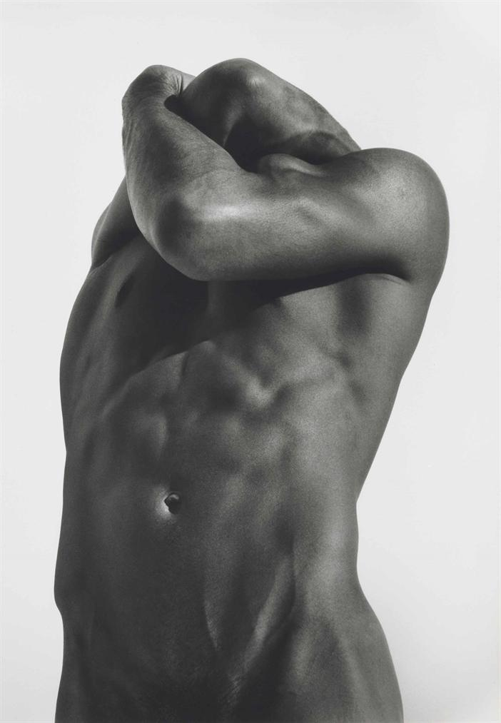Herb Ritts-Headless Male Nude, Hollywood-1988