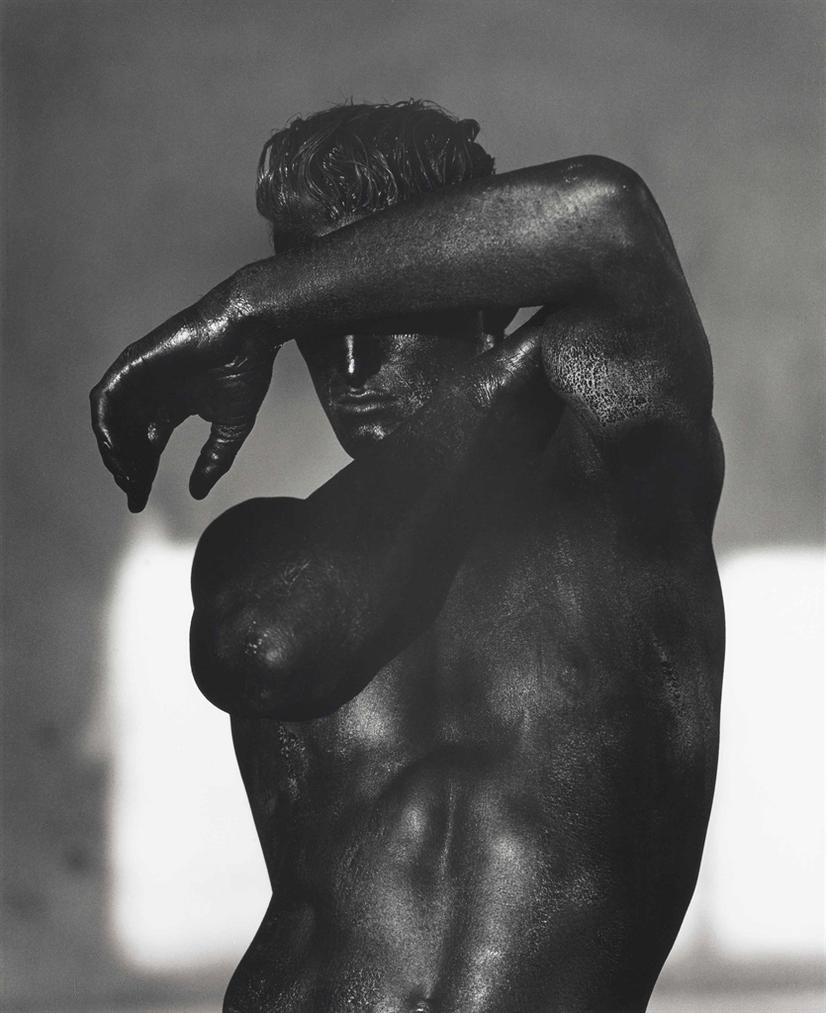 Herb Ritts-Tony, Black Torso, Los Angeles-1986