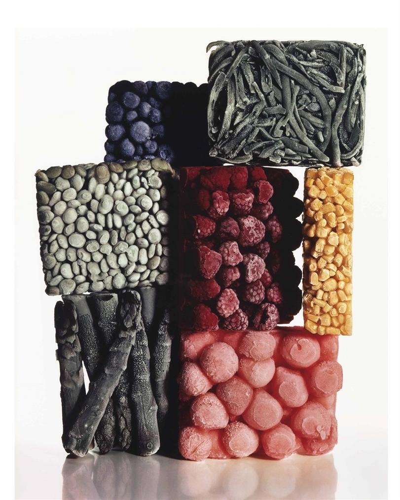 Irving Penn-Frozen Food (With String Beans), New York-1977