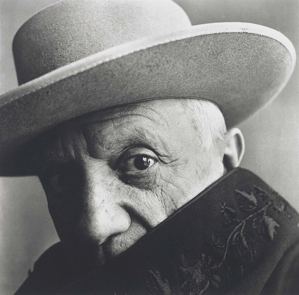Irving Penn-Picasso At La Californie, Cannes, France-1957