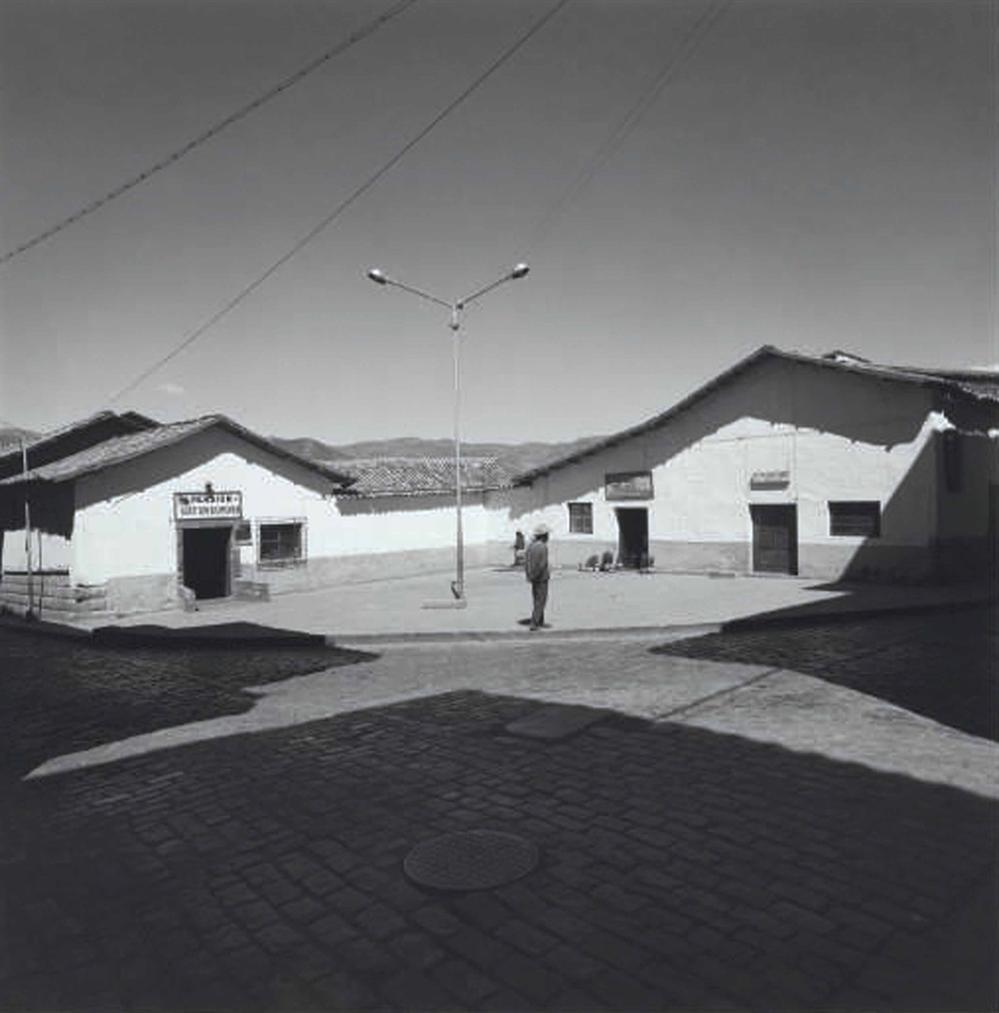 Harry Callahan-Cuzco, Peru-1974