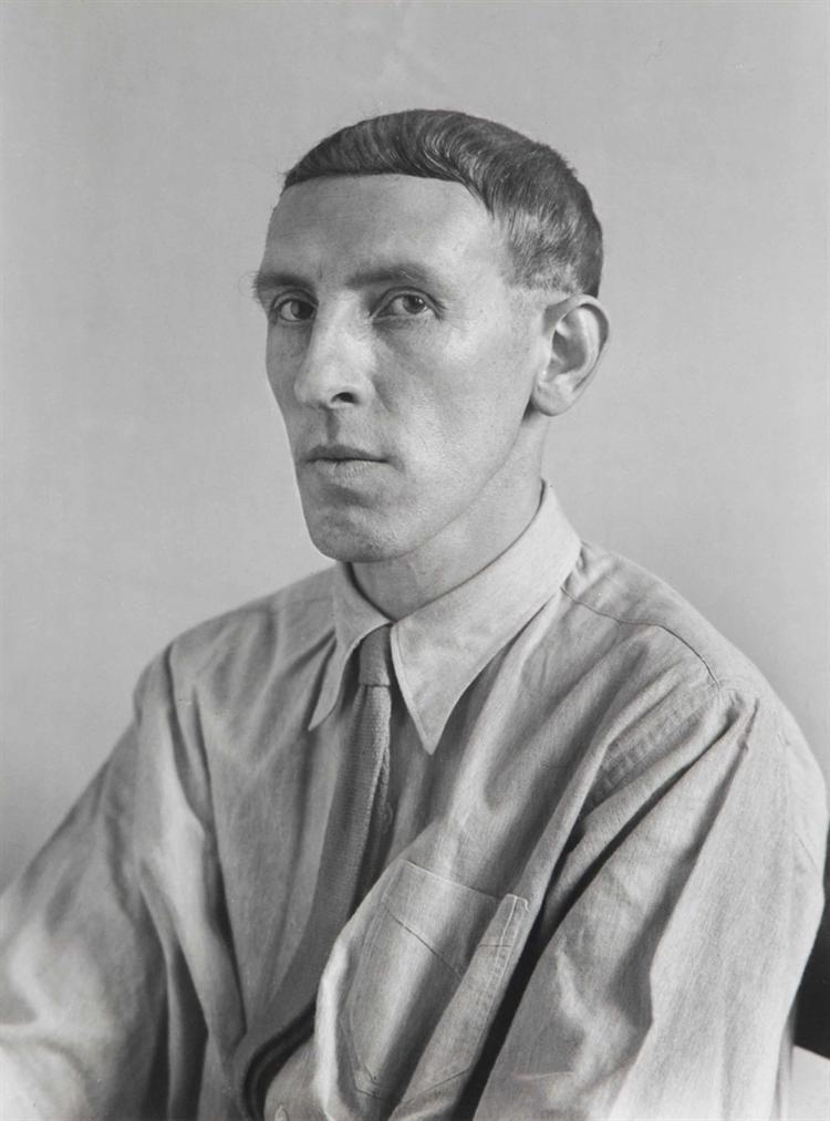 August Sander-The Painter, Heinrich Hoerle-1928