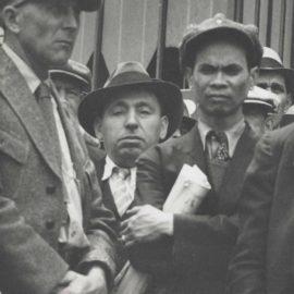Dorothea Lange-May Day Demonstration, San Francisco-1933