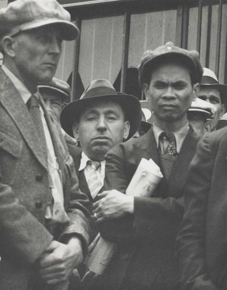 Dorothea Lange-May Day Demonstration, San Francisco-1933