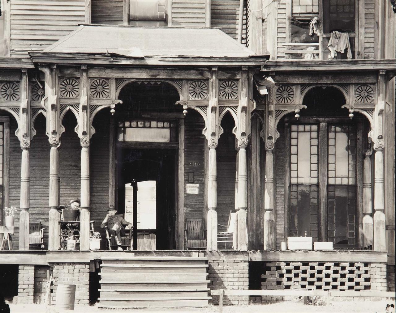 Walker Evans-Birmingham Boarding House-1936