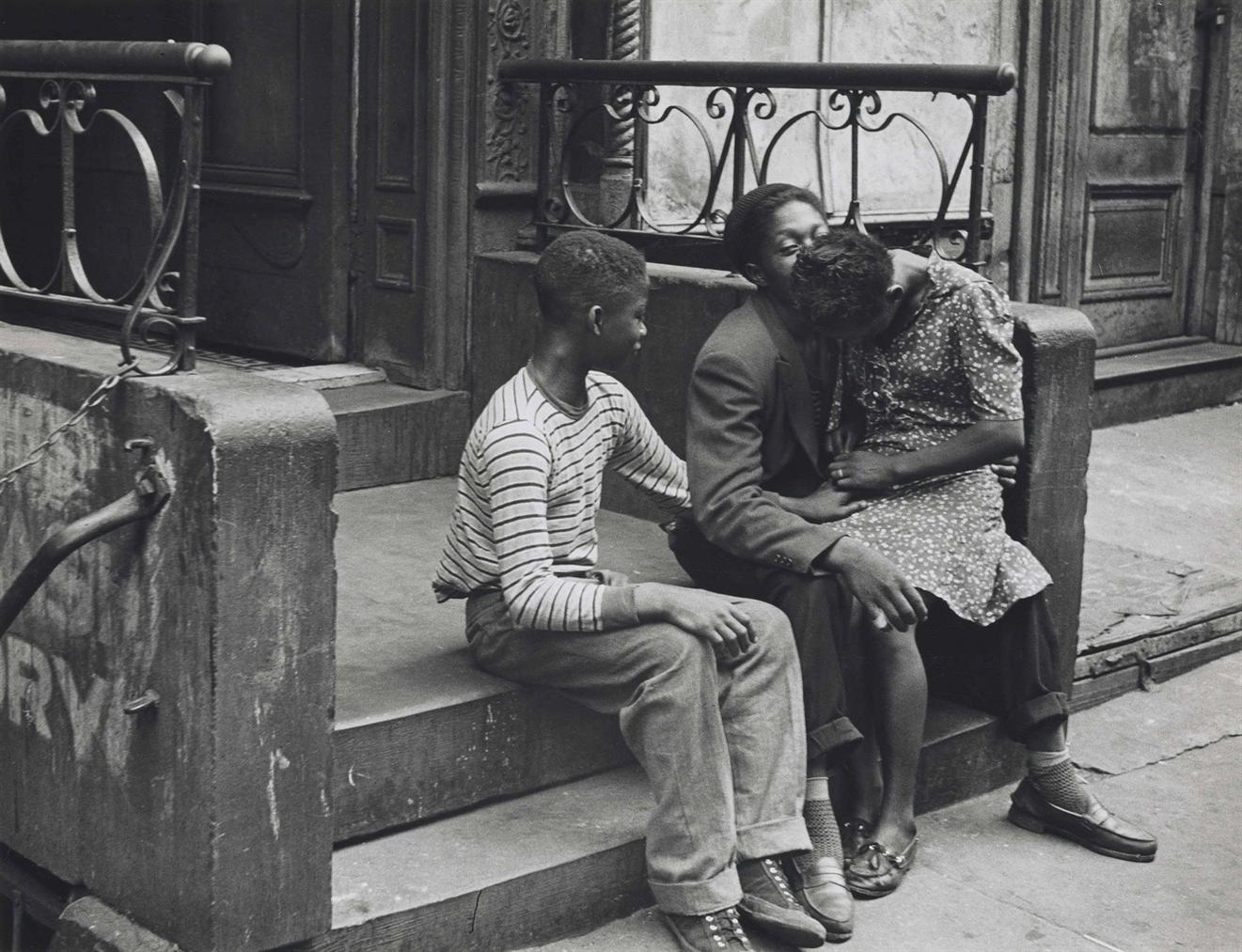 Helen Levitt-New York-1940