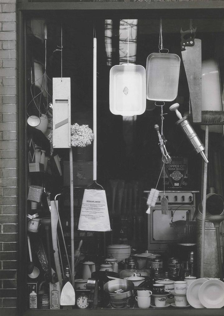 Walker Evans-Window Display Of Household Supply Store, East 4Th Street, South Bethlehem, Pennsylvania, November 10-1935