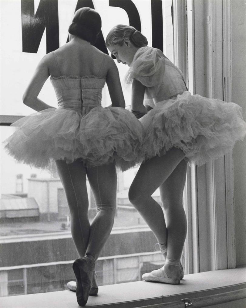 Alfred Eisenstaedt-Ballerinas, The Balanchine School Of American Ballet Theater, New York-1936