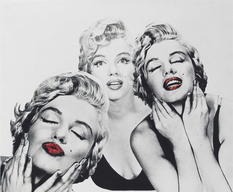 Philippe Halsman-Marilyn Monroe-1954