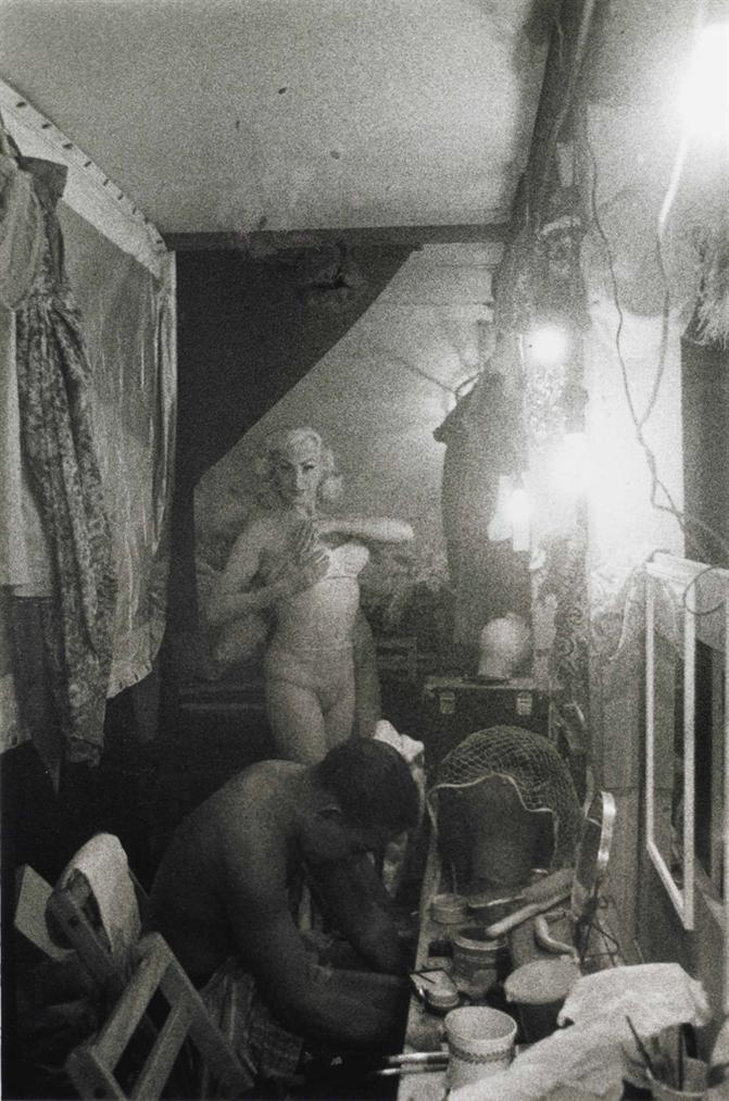 Diane Arbus-Female Impersonators Dressing Room, N. Y. C.-1958