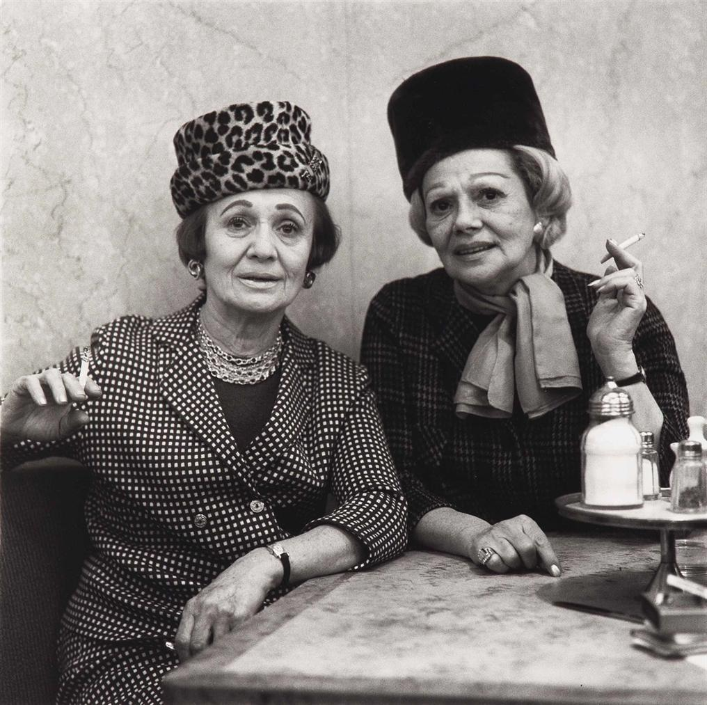 Diane Arbus-Two Ladies At The Automat, N. Y. C.,-1966