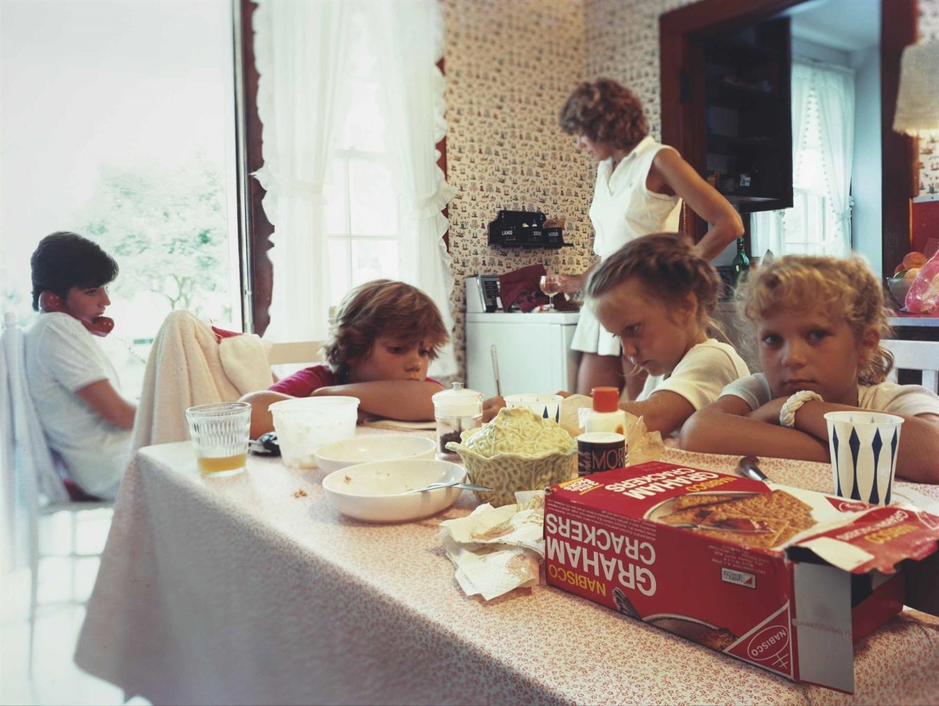 Tina Barney-The Graham Cracker Box-1983