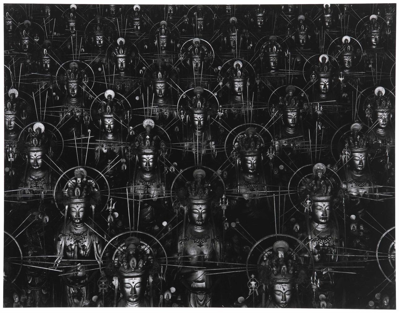 Hiroshi Sugimoto-Sea Of Buddha, Kyoto-1995