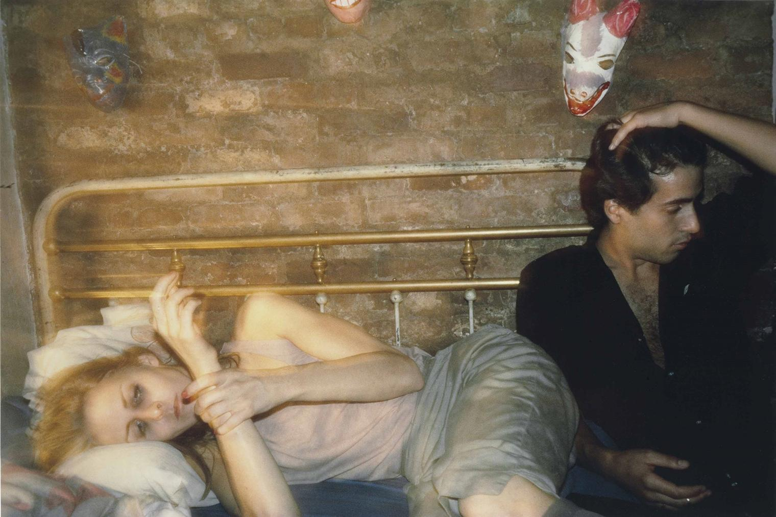Nan Goldin-Greer And Robert On The Bed, New York City-1982