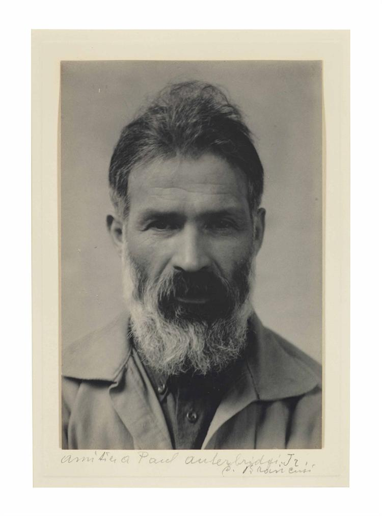 Paul Outerbridge-Constantin Brancusi-1925