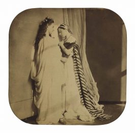 Lady Clementina Hawarden - Grace Maude And Clementina Maude No. 217-1860
