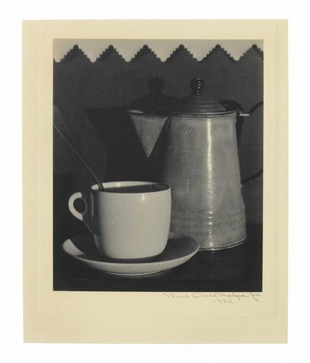 Paul Outerbridge-Coffee Pot And Cup-1922