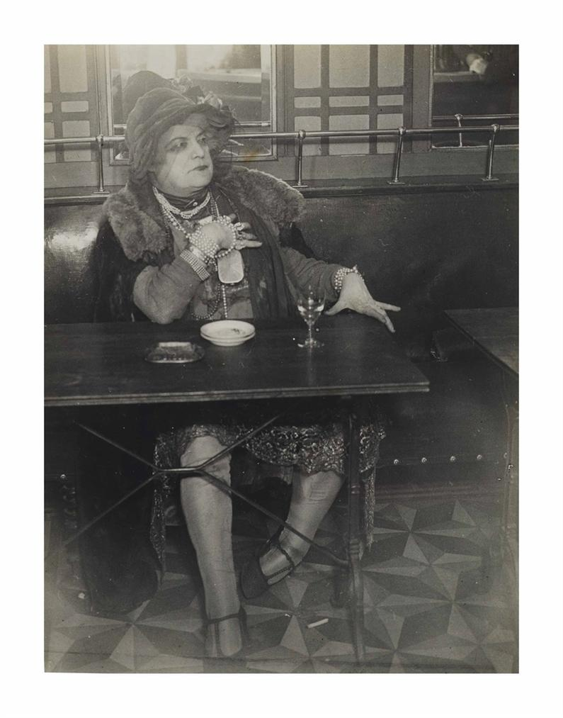 Brassai-La Mome Bijou, Bar De La Lune, Paris-1932