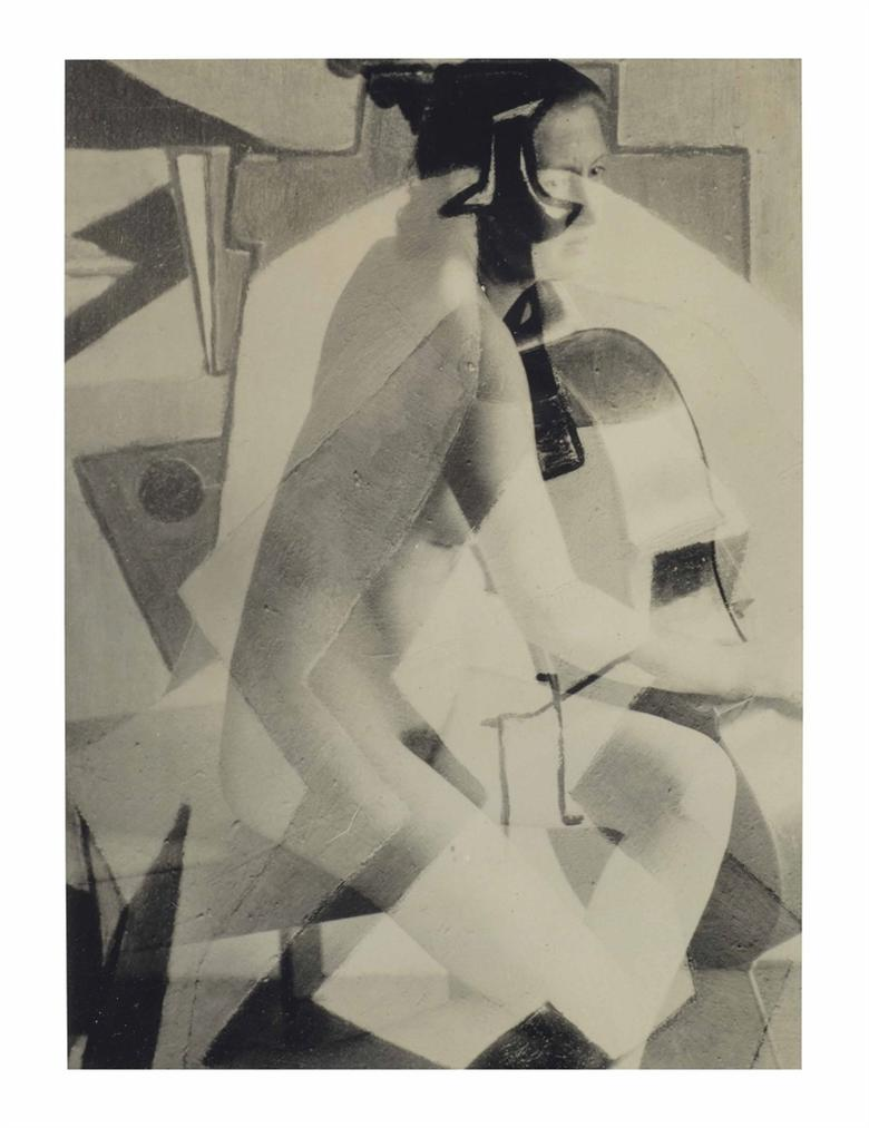 Francis Bruguiere - Rosalind Fuller With Cello-1935