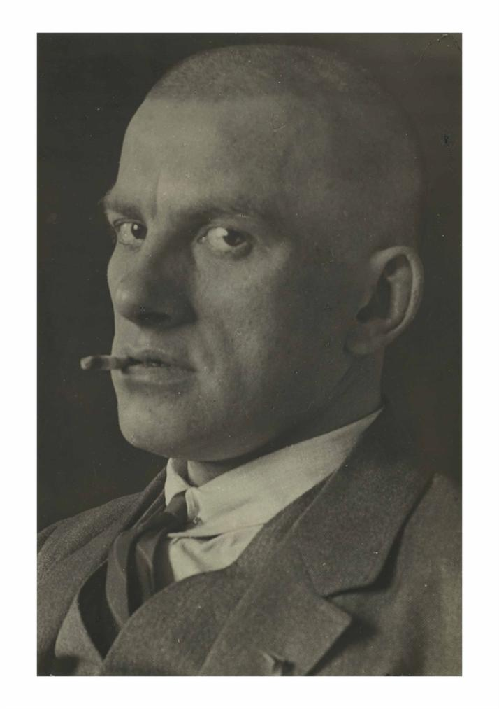 Alexander Rodchenko-Vladimir Mayakovsky-1924