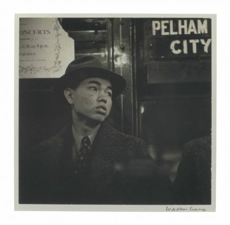 Walker Evans-Subway Portrait-1941