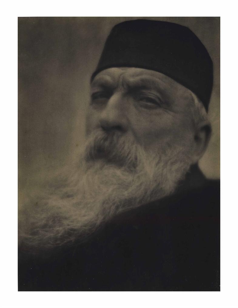 Alvin Langdon Coburn-Auguste Rodin, Meudon-1906