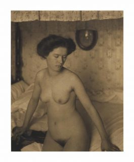 Clarence Hudson White - Untitled (Miss Thompson)-1907