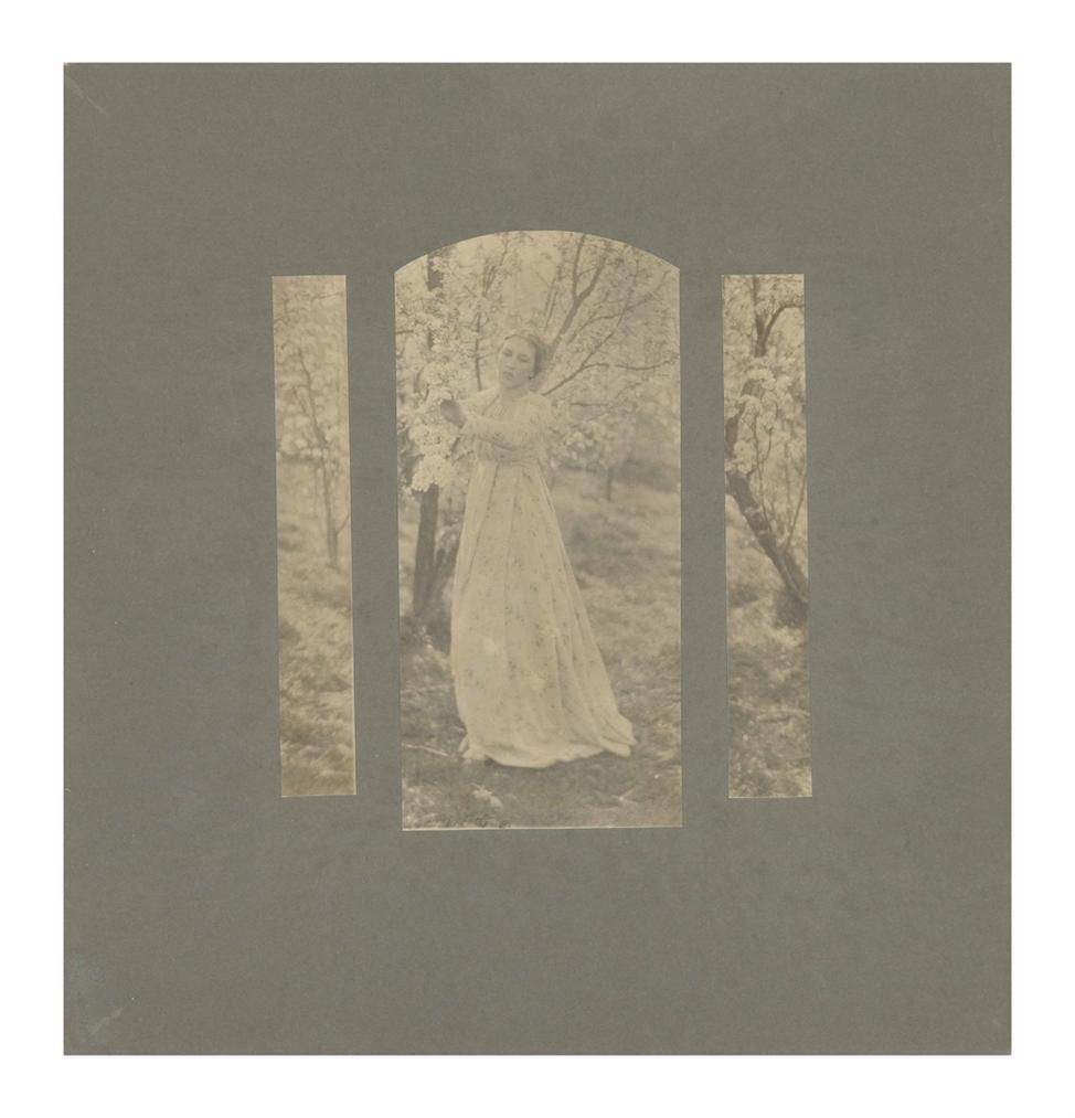 Clarence Hudson White - Spring - A Triptych-1898